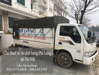 Dịch vụ xe tải chuyển nhà giá rẻ tại phố Hoàng Sâm