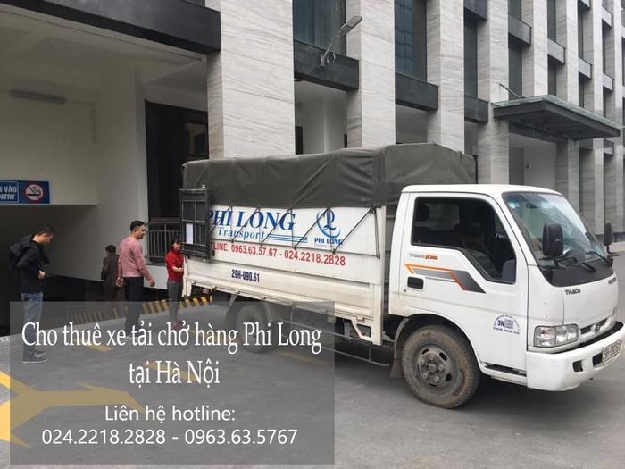 Dịch vụ xe tải chuyển nhà giá rẻ tại phố Khúc Thừa Dụ