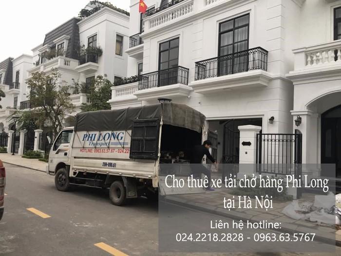 Dịch vụ xe tải chuyển nhà giá rẻ tại phố Nguyễn Huy Tự