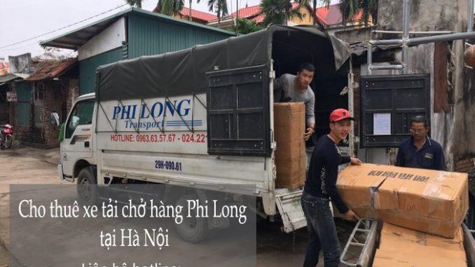 Xe tải chuyển nhà Phi Long tại phố Kim Quan