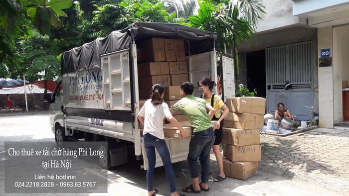 Xe tải chuyển nhà giá rẻ phố Nguyễn Văn Hưởng