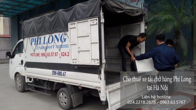 Dịch vụ xe tải chuyển nhà giá rẻ tại phố Nguyễn Khả Trạc