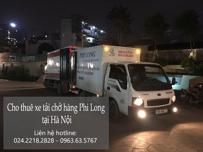 Dịch vụ xe tải chuyển nhà giá rẻ tại phố Mai Dịch