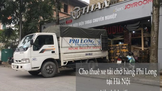 Dịch vụ xe tải chuyển nhà giá rẻ tại phố Nguyễn Ngọc Vũ