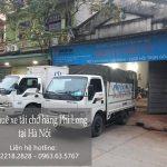 Dịch vụ xe tải chuyển nhà giá rẻ tại phố Nguyễn Chánh