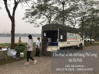 Dịch vụ xe tải chuyển nhà giá rẻ tại phố Nguyễn Thanh Bình