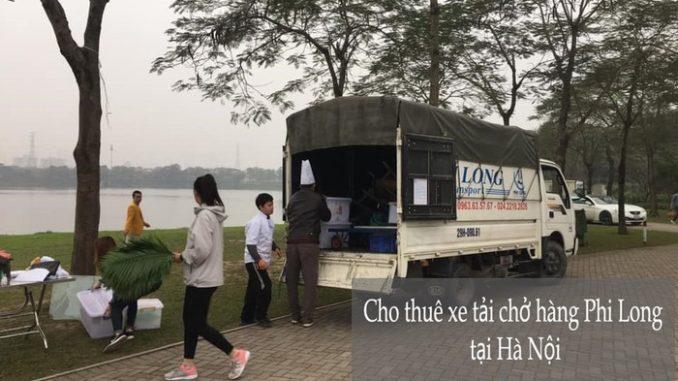 Dịch vụ xe tải chuyển nhà giá rẻ tại phố Mạc Thái Tổ