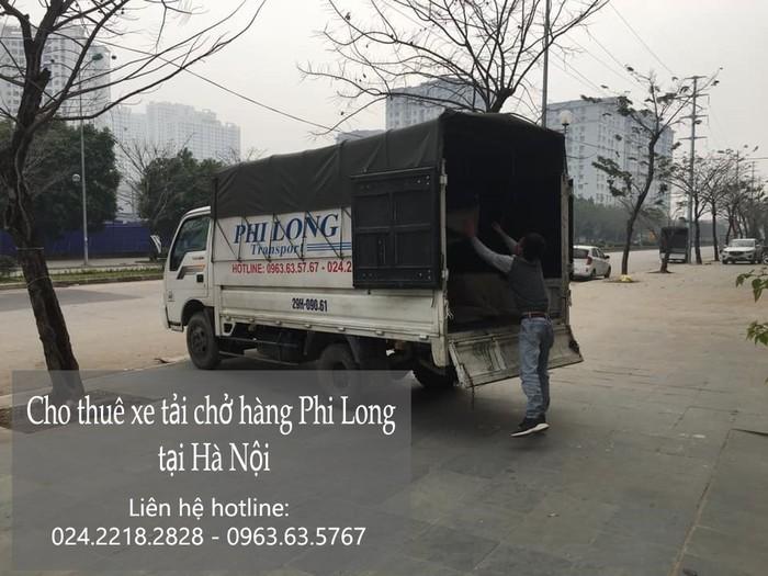 Dịch vụ xe tải chuyển nhà giá rẻ tại phố Lê Văn Lương