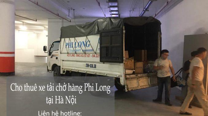 Xe tải chuyển nhà tại phố Quần Ngựa