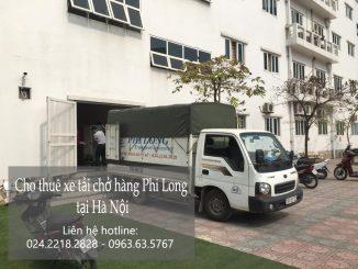 Dịch vụ xe tải chuyển nhà giá rẻ tại phố Hoài Thanh