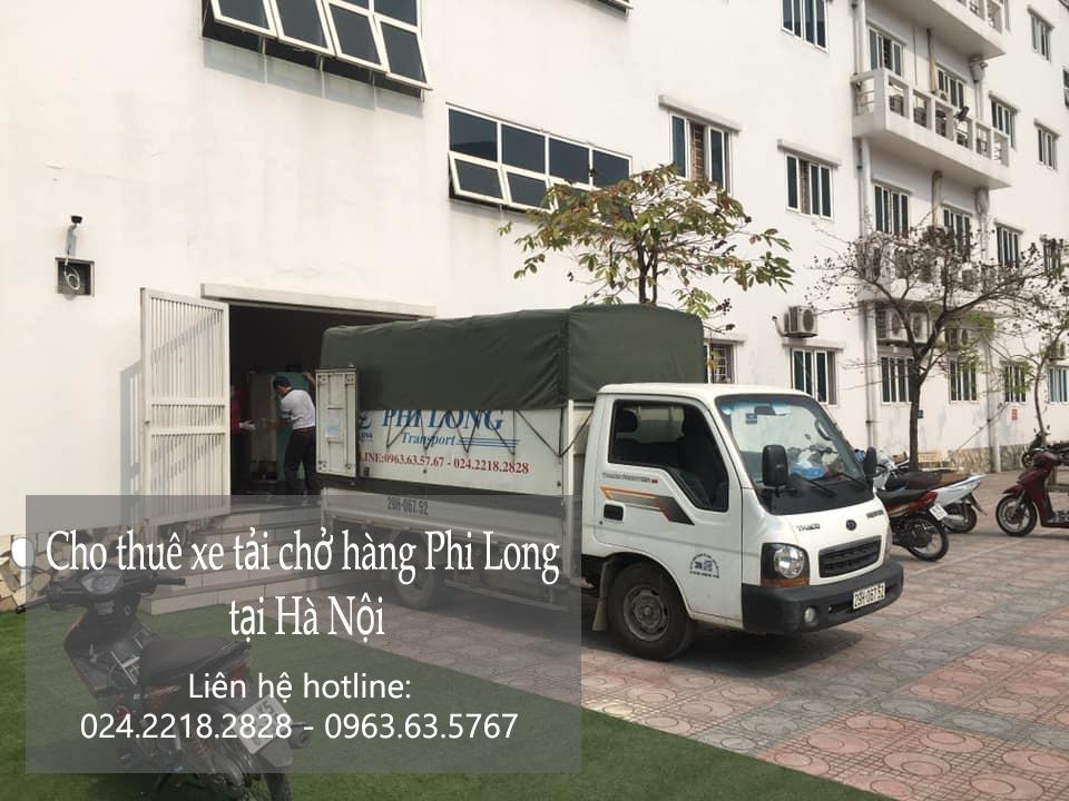 Dịch vụ xe tải chuyển nhà giá rẻ tại phố Nguyên Khiết