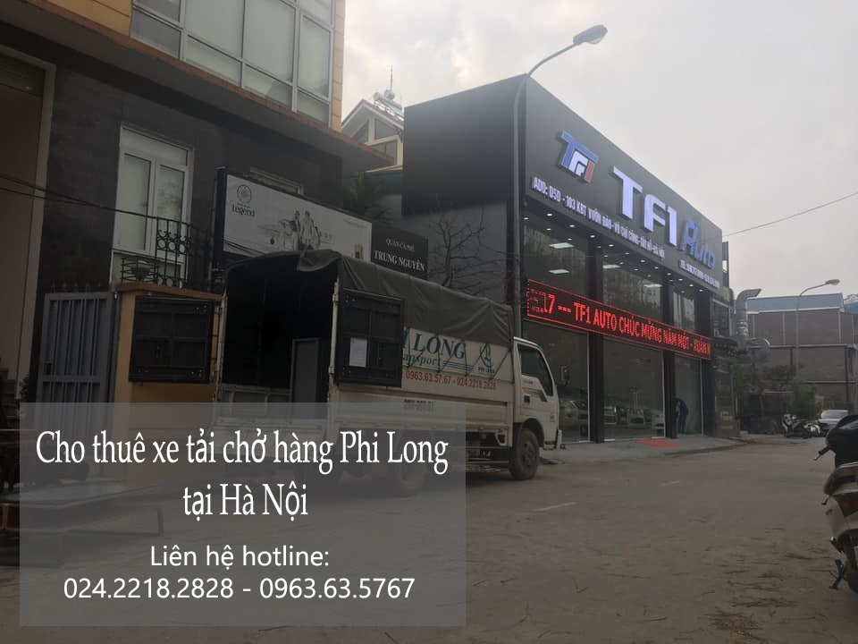 Xe tải chuyển nhà giá rẻ tại phố Phú Thị