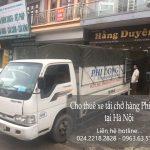 Dịch vụ xe tải chuyển nhà giá rẻ tại phố Hoàng Công Chất