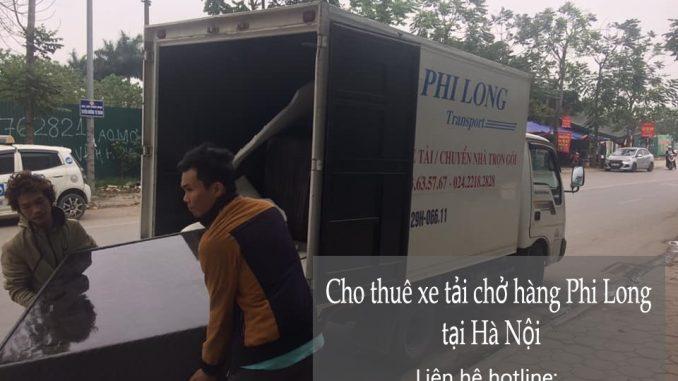 Dịch vụ xe tải chuyển nhà tại phố Lý Đạo Thành