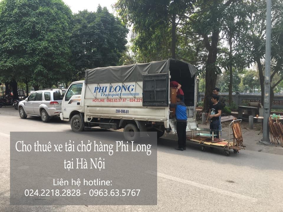 Dịch vụ xe tải chuyển nhà giá rẻ tại phố Hàng Mắm