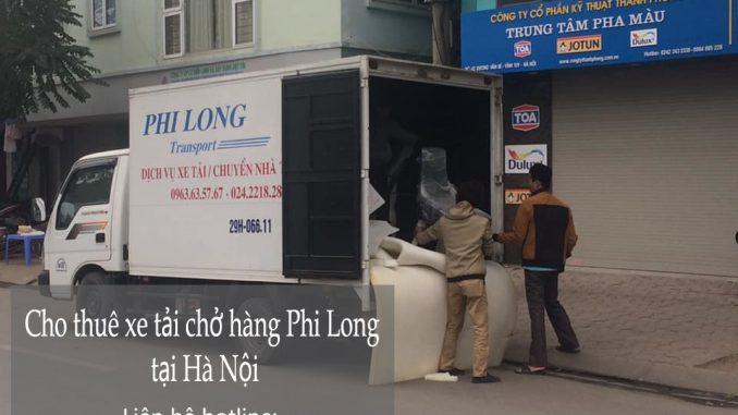 Xe tải chuyển nhà giá rẻ tại phố Thành Công