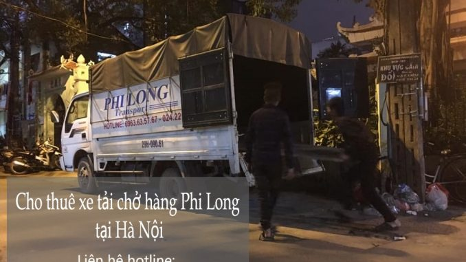 Dịch vụ xe tải chuyển nhà Phi Long tại phố Bắc Cầu