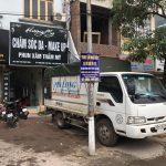 Xe tải chuyển nhà Phi Long tại phố Đống Mác