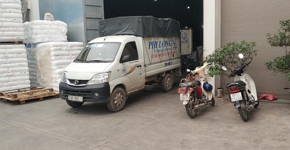 Xe tải chuyển nhà Phi Long tại phố Đại Linh