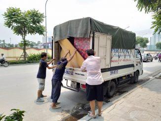 Xe tải chuyển nhà giá rẻ tại phố Yên Lạc