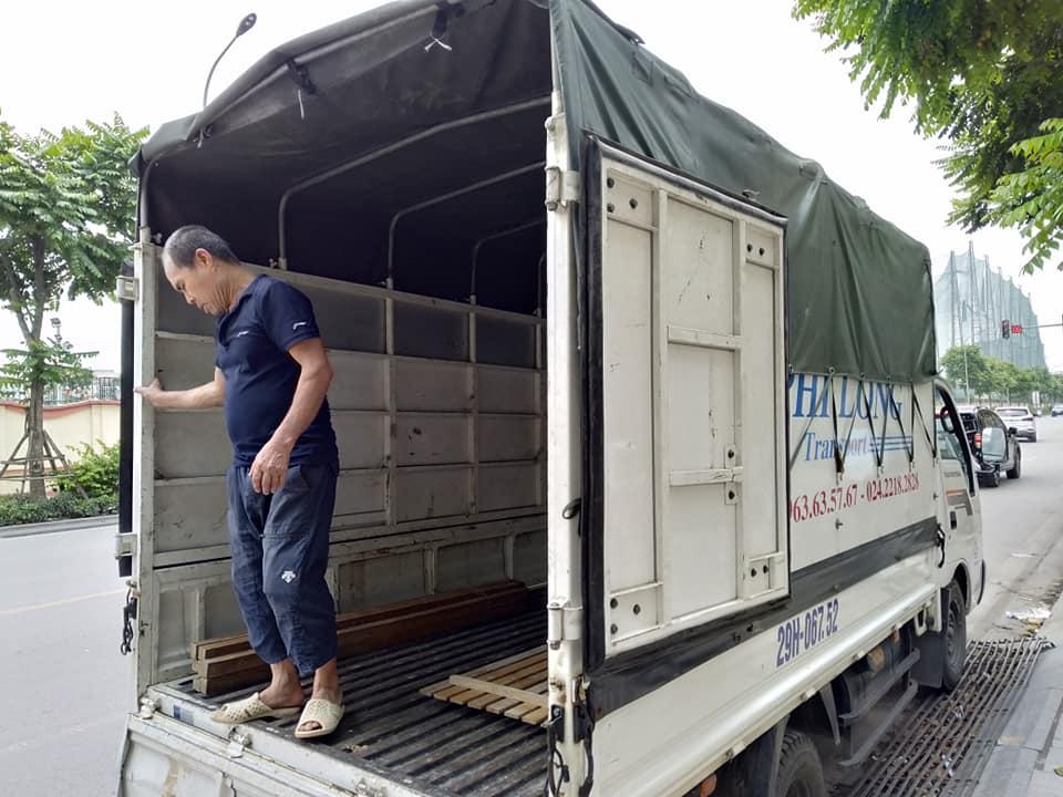 Xe tải chuyển nhà giá rẻ tại phố Bùi Ngọc Dương