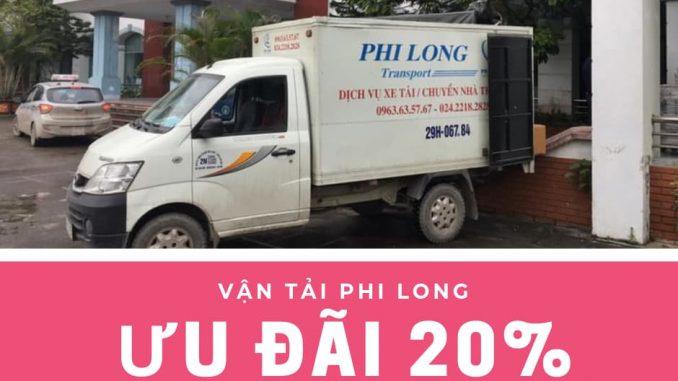 Dịch vụ xe tải chuyển nhà tại phố Mộ Lao