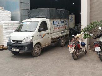Xe tải chuyển nhà tại phố Tân Nhuệ
