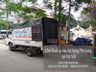 Xe tải chuyển nhà tại phố Hàm Tử Quan
