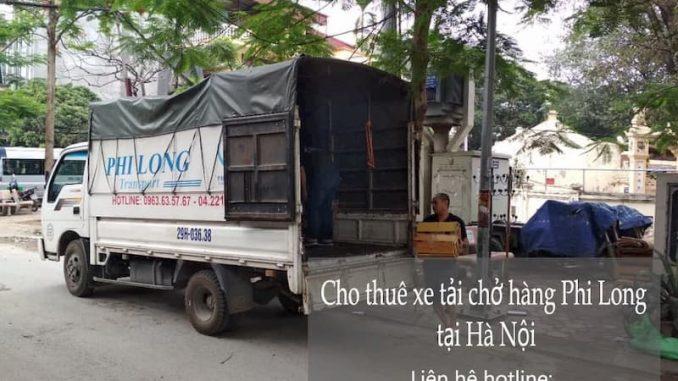 Xe tải chuyển nhà tại phố Nguyễn Xuân Nguyên
