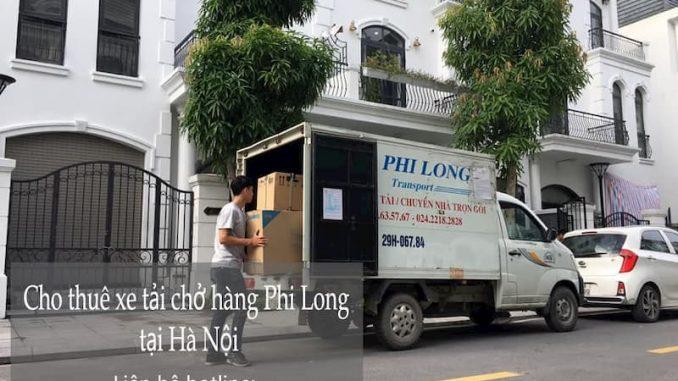 Xe tải chuyển nhà giá rẻ tại phố Sa Đôi