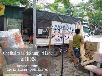 Xe tải chuyển nhà tại phố Viên