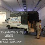 Xe tải chuyển nhà giá rẻ Phi Long tại phố Nguyễn Đình Tứ