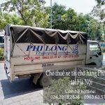 Xe tải chuyển nhà giá rẻ Phi Long tại phố Phú Diễn