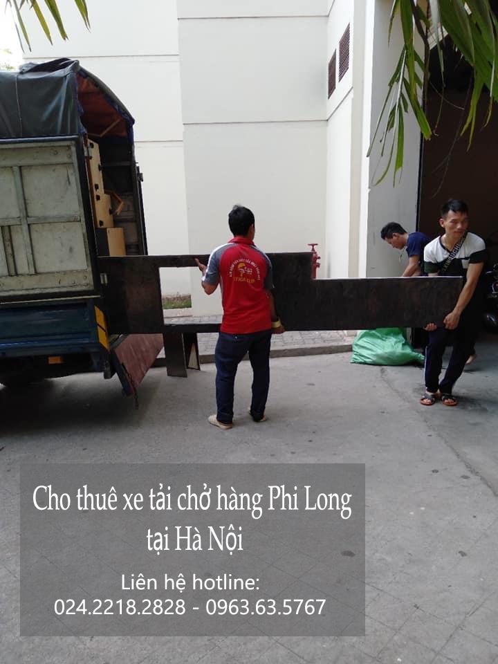 Xe tải chuyển nhà giá rẻ Phi Long tại phố Vĩnh Quỳnh