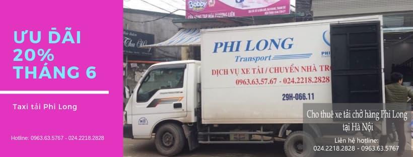 Cho thuê xe tải chở hàng Phi Long tại phố Gia Quất