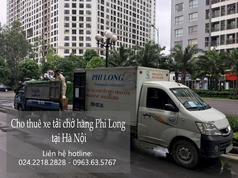 Xe tải chuyển nhà trọn gói Phi Long tại phố Hồng Tiến