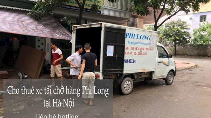 Dịch vụ xe tải chở hàng Phi Long tại phố Gia Biên