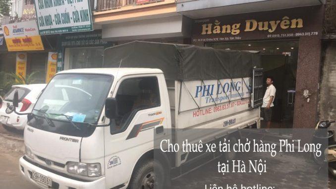 Xe tải chuyển nhà trọn gói Phi Long tại phố Hoàng Thế Thiện