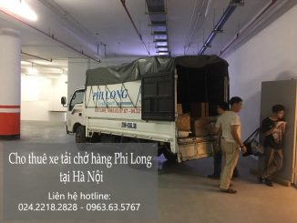 Phi Long cho thuê xe tải tại phố Đoàn Khuê