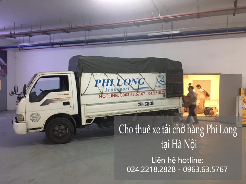 Xe tải chuyển nhà giá rẻ Phi Long tại phố Đức Giang