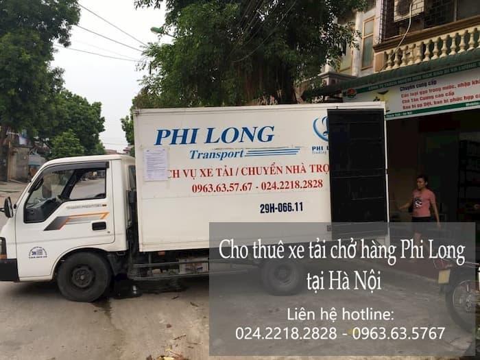 Xe tải chuyển nhà Phi Long tại phường Cửa Nam