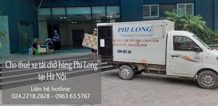 Xe tải chuyển nhà giá rẻ tại phố Nguyễn Cảnh Dị