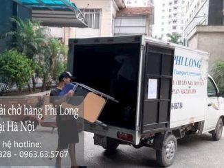 Xe tải chuyển nhà tại phố Nguyễn Công Thái