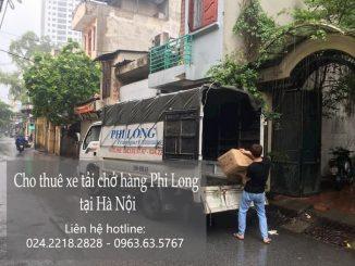 Xe tải chuyển nhà tại phố Trần Nguyên Đán
