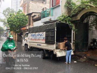Xe tải chuyển nhà tại phố Nguyễn Ngọc Doãn