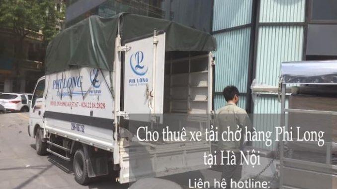 Xe tải chuyển nhà Phi Long tại phố Nguyễn Phúc Lai