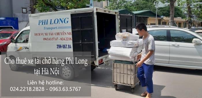 Xe tải chuyển nhà tại phố Tam Khương