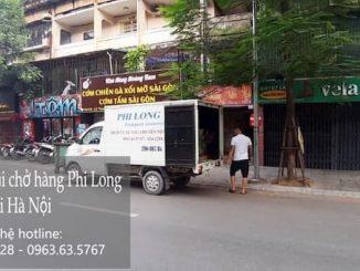 Xe tải chuyển nhà tại phố Đặng Trần Côn