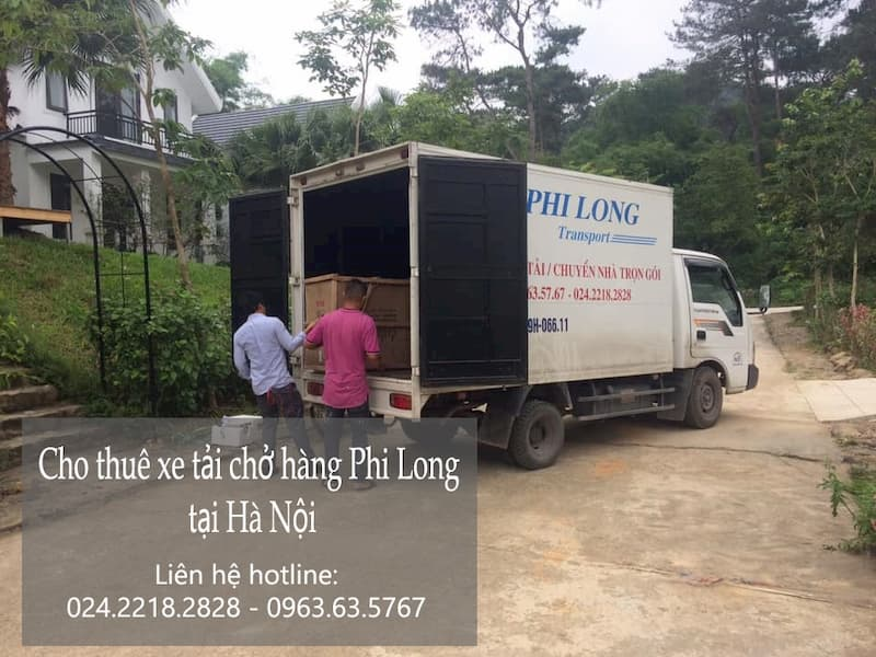 Chở hàng thuê tron gói Phi Long tại phố Đặng Thùy Trâm