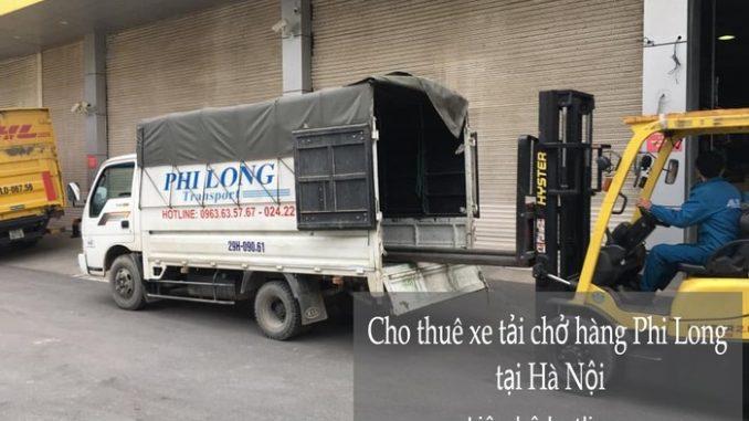 Xe tải chuyển nhà uy tín giá rẻ Phi Long tại Đại Lộ Thăng Long